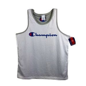 Champion Double Dry Reversible Jersey Tank Top